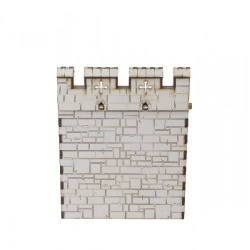 """Castle Wall Section (6"""")"""