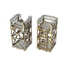 Industrial Sector Scaffold Towers x2