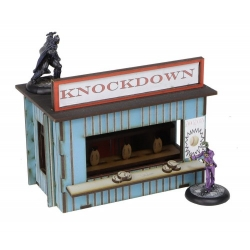 """Fairground """"Knockdown"""" Games Booth"""