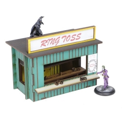 """Fairground """"Ring Toss"""" Games Booth"""