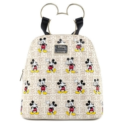Loungefly: Disney - Mickey Mouse Hardware All Over Print Backpack