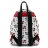 Loungefly: Disney - Mickey and Minnie Mouse Heart All Over Print Mini Backpack