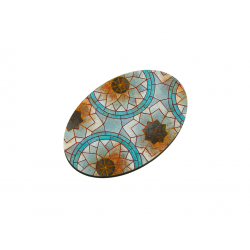 Mosaic Bases, Oval 105x70mm
