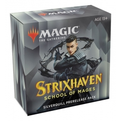 MTG: Strixhaven School of Mages Prerelease Pack: Silverquill Black/White