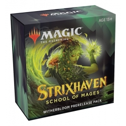 MTG: Strixhaven School of Mages Prerelease Pack: Witherbloom Green/Black
