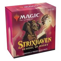 MTG: Strixhaven School of Mages Prerelease Pack: Lorehold Red/White