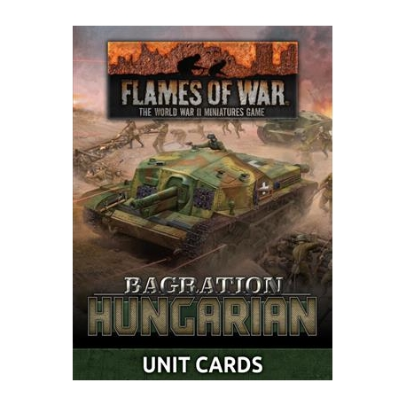 LW Hungarian Unit Card Pack