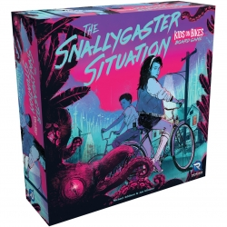 The Snallygaster Situation Kids on Bikes Board Game