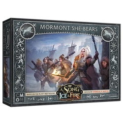 Mormont She-Bears: A Song Of Ice and Fire Miniatures Exp