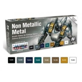 Game Color Set - Non Metallic Metal (x8)