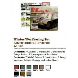 Acrylics - Winter Weathering Set