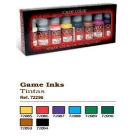 Game Color Set - Games Ink (x8 )
