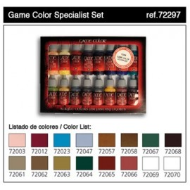 Game Color Set - Specialist Set (x16)