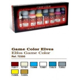 Game Color Set - Game Elves (x8)