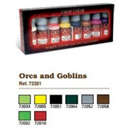 Game Color Set - Orcs and Goblins (x8)