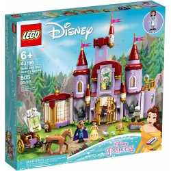 Belle and the Beast's Castle LEGO® Disney™ 43196