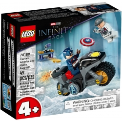 Captain America and Hydra Face-Off LEGO® Marvel 76189