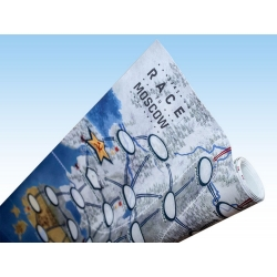 Race to Moscow: Giant Playing Mat (126cm x 84cm)