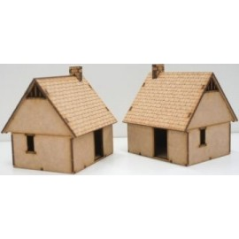 Pack of 2 Northern European House