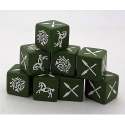 Age of Hannibal Barbarian Dice