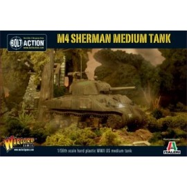 Plastic M4 Sherman Medium Tank