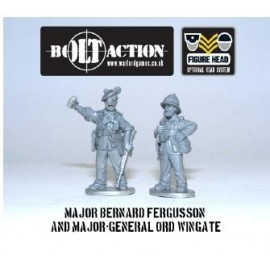 Bolt Action - Chindit Characters (3)