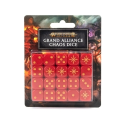 Age of Sigmar: Grand Alliance Chaos Dice Set