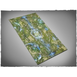 44in x 30in, Realm of Heavens Themed Cloth Games Mat