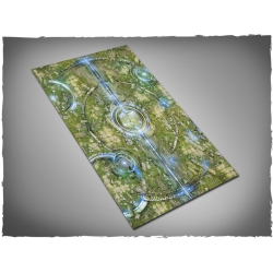 44in x 30in, Realm of Heavens Themed PVC Games Mat