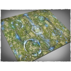 44in x 60in, Realm of Heavens Themed PVC Games Mat