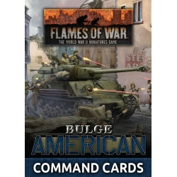 Bulge: American Command Cards