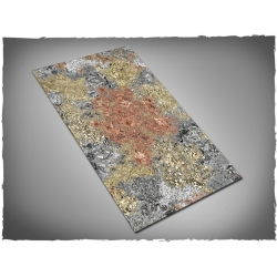 44in x 30in, Realm of Metal Themed Cloth Games Mat