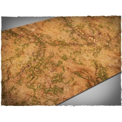 44in x 90in, Realm of Beasts Themed PVC Games Mat