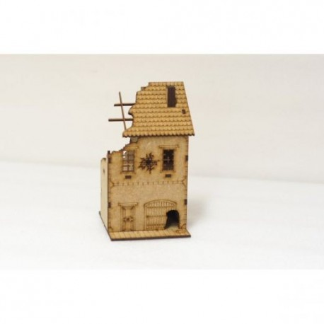Ruined Dividing Building - 15mm