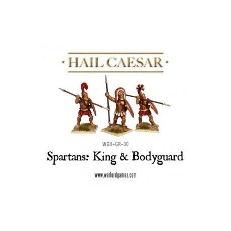 Spartan King and Bodyguard