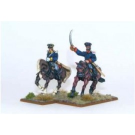 Napoleonic - Prussian Landwehr Officer Mounted