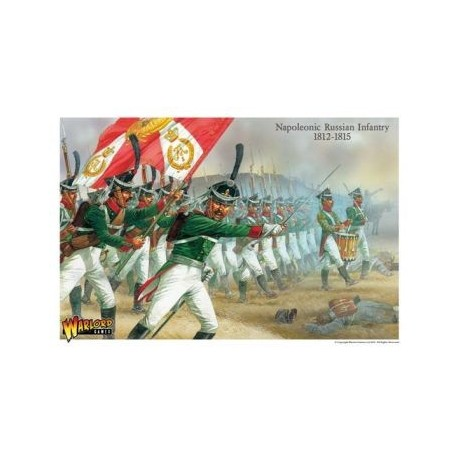 Late Russian Napoleonic Infantry 1812 - 1815