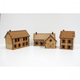 Country Houses Pack - 15mm