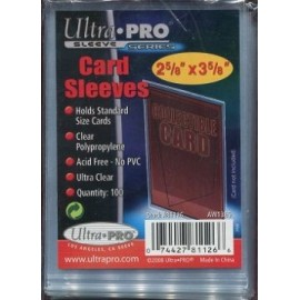 Card Sleeves - Clear