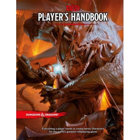 Dungeons and Dragons Player's Handbook 5