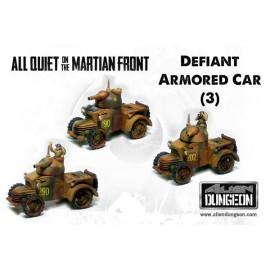 BEF Defiant Armored Cars (3 Vehicles)