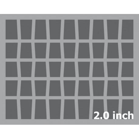 50mm (2 Inch) slot foam with base - full-size