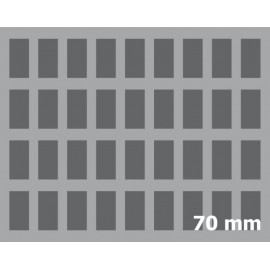 70mm (2.8 Inch) Figure Foam Tray with base - full-size