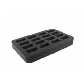 35mm (1.4 Inch) slot foam with base - half-size