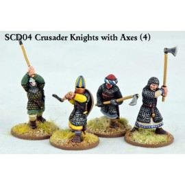 Crusader Knights with Double Handed Axes