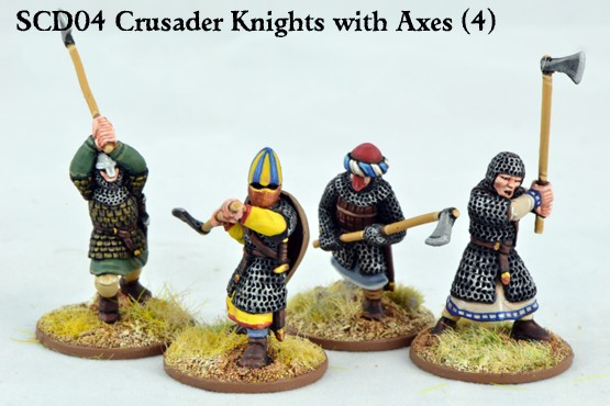 Gripping Beast - 28mm hearthguards SAGA Crusader Knights on foot