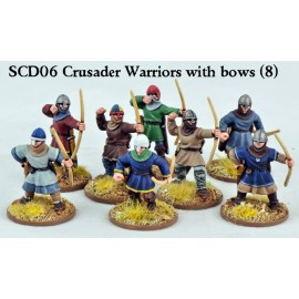 Crusader Sergeants with Bows Warriors plus B21