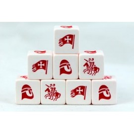 Crescent and the Cross Christian Faction Dice