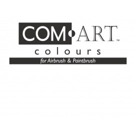Com-Art Opaque White 4oz (112 ml)