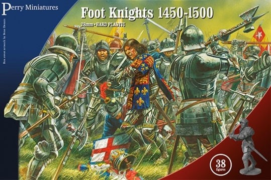 Mounted Men at Arms 1450 - 1500 - War of the Roses Miniatures: 28mm